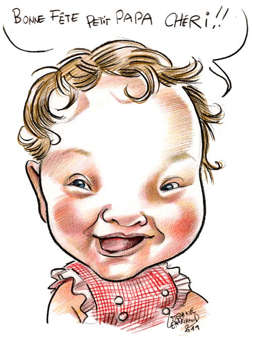 caricature-bebe