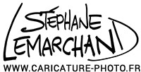 Le caricaturiste Stephane Lemarchand